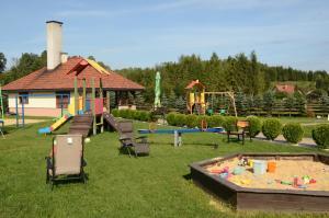 Children's play area at Zajazd Bieszczadzka Ostoja