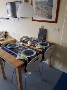 Virtuvė arba virtuvėlė apgyvendinimo įstaigoje City Apartment Hotel