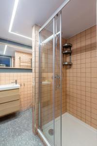 Ванная комната в Moscow Center Apart Hotel