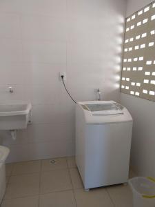 Un baño de Apartamento a 350m da Orla de Atalaia