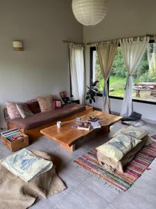 Un lugar para sentarse en Casa nomade