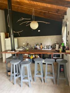 Un restaurant u otro lugar para comer en Casa nomade