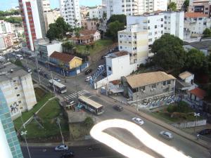 A bird's-eye view of Apartamento um quarto sala mobiliado no Canela
