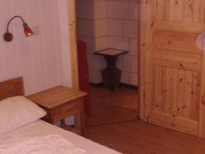 Ein Sitzbereich in der Unterkunft Halmis FeWo