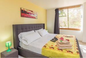 Un ou plusieurs lits dans un hébergement de l'établissement La Villa Mar y Sol
