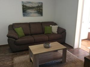 Uma área de estar em Apartments Bajkovic
