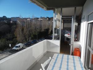A balcony or terrace at T3 em Sever do Vouga