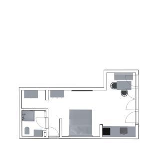 Grundriss der Unterkunft Friedrich Inn