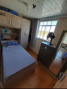 Cama o camas de una habitación en Casa da Ale