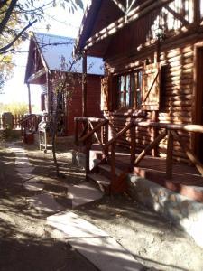 Cabañas Teushen durante el invierno