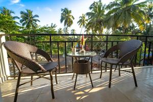 A balcony or terrace at Mariners Bay Suites