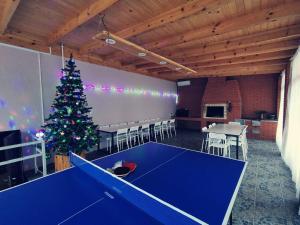 Настольный теннис в Агроусадьба Сосновый двор в Прилуках под Брестом или поблизости