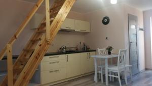A kitchen or kitchenette at Nad Strumykiem