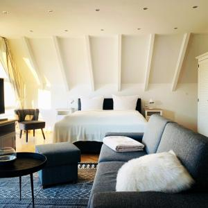 Ein Bett oder Betten in einem Zimmer der Unterkunft FUNCKyHOME Apartments