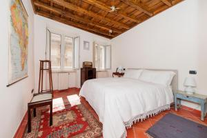 A bed or beds in a room at Casa Cimini