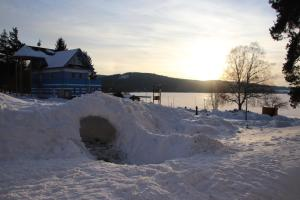 Bakarloko Lipno Apartments - Šimi v zimě