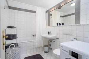 Ein Badezimmer in der Unterkunft Villa1862