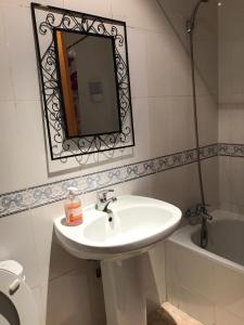 Ein Badezimmer in der Unterkunft Apartamento Valverde 3
