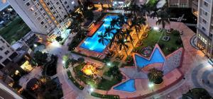 A bird's-eye view of Wonderful Apartment Imperia