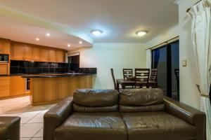 A seating area at 7 Waves - Airlie Beach