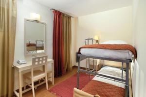 Двуетажно легло или двуетажни легла в стая в Villas Kornati