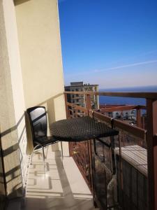 Балкон или терраса в Apartment on Frantsuz'ky Bulvar