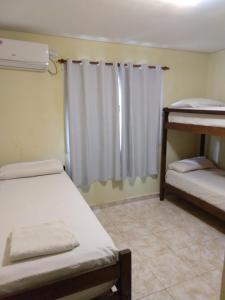 Una cama o camas cuchetas en una habitación  de Departamento 10