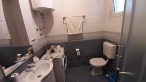Koupelna v ubytování Apartments Kekica