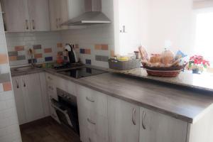 Una cocina o zona de cocina en Apartamento nuevo con encanto