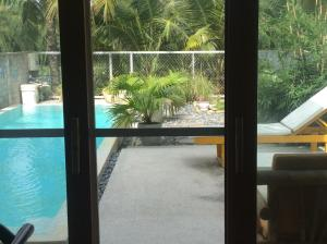 A view of the pool at Nha Maica or nearby