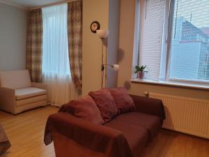 Istumisnurk majutusasutuses Jõe Apartment