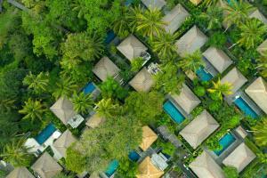 Vista aerea di Kayumanis Ubud Private Villas & Spa