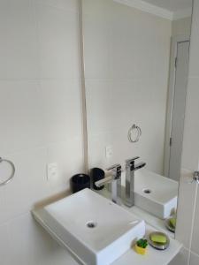 A bathroom at Mari Haus