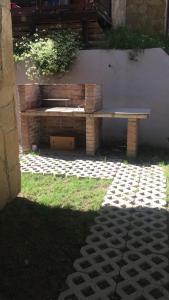 Un jardín fuera de Beruchka Home