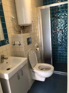 A bathroom at Villa Baltic
