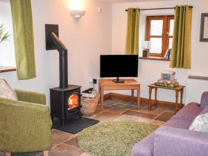 A television and/or entertainment center at Wavering, Axbridge