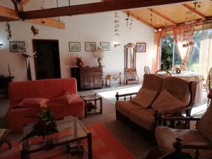 A seating area at Casa da Boavista