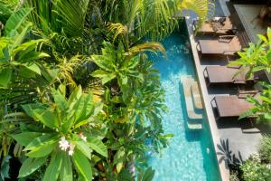 A view of the pool at Aradhana Villas by Ekosistem or nearby