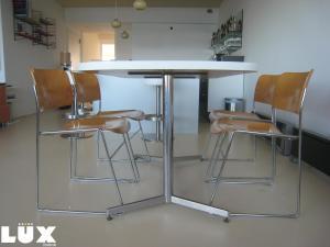 Lounge oder Bar in der Unterkunft Lux Skyline Sea-View Apartments