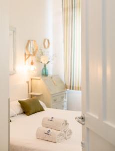 Ein Bett oder Betten in einem Zimmer der Unterkunft BetiJai - Basque Stay