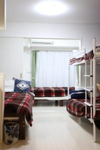 COCOSTAY Gekko 5F/6F/7Fにある二段ベッド