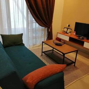 A seating area at Juara Mutiara Resort
