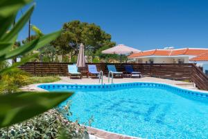 The swimming pool at or near Kolymbia Village
