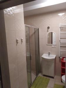 A bathroom at Apartament PALOMA 3