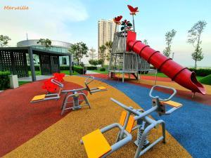 Children's play area at Luminari Premium Suite x Merveille @ Butterworth