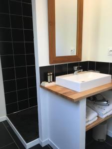 Salle de bains dans l'établissement une vision singulière