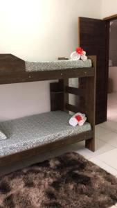 A bunk bed or bunk beds in a room at A Better Place by Lapa