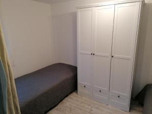 Ein Bett oder Betten in einem Zimmer der Unterkunft Dolles Fahrenbach