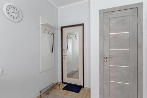 A bathroom at Добрые апартаменты в Одинцово
