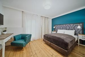 Ein Bett oder Betten in einem Zimmer der Unterkunft Salzburg Residence by Welcome-to-Salzburg